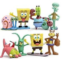 SpongeBob & Friends Figure / Spongebob Toy / Cake Topper 8 pcs set