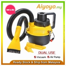 90W Car Vacuum Cleaner Wet Dry Portable Handheld Car Dust Collector Inflation