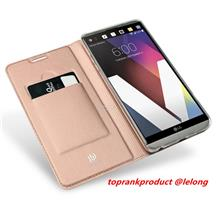 DUX DUCIS LG V30 G6 Flip PU Leather Card Slot Stand Case Cover Casing