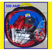 Battery Booster Jumper Cable Car van lorry emergency break out 500AMP