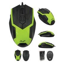AVF AGM133 Gaming Optical Mouse (3000dpi) USB - Grey/ Green color