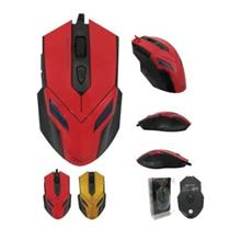 AVF AGM111 Gaming Optical Mouse (3000dpi) USB - Yellow/ Red color