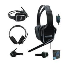 AVF Full Cover Stereo Headphone with Mic - Black color HM500