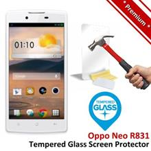 Premium Protection Oppo Neo R831 Tempered Glass Screen Protector