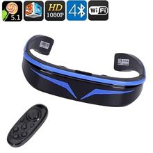 98 Inch 3D Smart Video Glasses With Bluetooth Remote (WSG-12B).