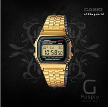 CASIO A159WGEA-1 DIGITAL RETRO WATCH ☑ORIGINAL