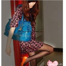 00482 Korean Version Of The New Denim Charming Little Pantyhoes