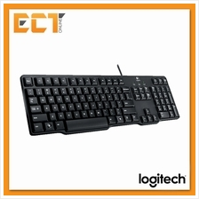 Logitech K100 Classic PS/2 Keyboard - Full-featured minimal design