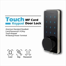 Digital Smart Key less Door Lock Keypad Touch Screen With RFID Card.