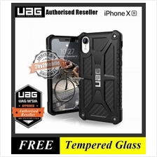 Official UAG Urban Armor Gear Monarch iPhone XR case cover - carbon