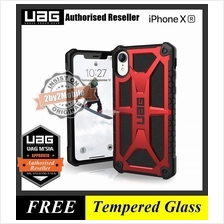 Official UAG Urban Armor Gear Monarch iPhone XR case cover - red