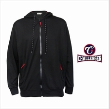 CHALLENGER BIG SIZE HOODIE SWEATER CH7013 (Black)