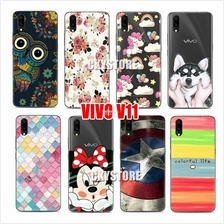 VIVO V11 / V11i Cartoon SOFT TPU SLIM Case Cover