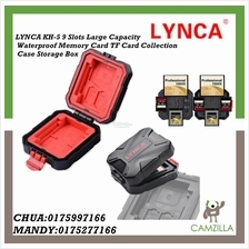 LYNCA KH-5 9 Slots Waterproof Memory Card TF Card Case / Storage Box