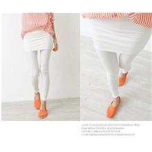 03698 Super Thin Package Hip Skirt Was Thin Leggings False Two-Piece