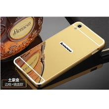 Lenovo S850 24K Mirror Metal Bumper Case Cover Casing + Free Gift