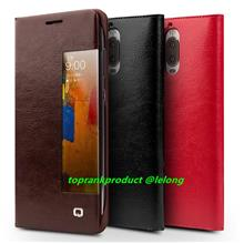 Qialino Genuine Leather Huawei Mate 9 / Pro Flip Case Cover Casing