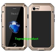 Apple iPhone 7 / Plus ShakeProof Armor Metal Rubber Case Cover Casing