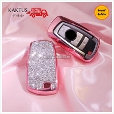 KAKTUS Luxurious Crystal Car Key Shell Cover Protector for BMW 1 3 5 6