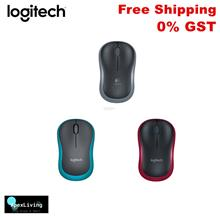 Logitech M185 Wireless Optical Mouse with Nano USB Receiver Mac PC