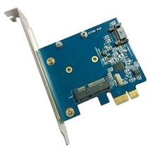 PCI-e SATA3.0 + mSATA SSD Mini PCIe Card