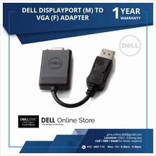 DELL DISPLAYPORT (M) TO VGA (F) ADAPTER (Buy 5 FREE 1)