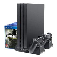 Cooling Stand for PS4/ PS4 Slim/ PS4 Pro, Multifunctional Vertical Sta..