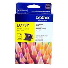 GENUINE BROTHER LC-73 YELLOW INK CARTRIDGE **NEW**SEALED BOX