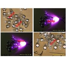 T10 Projector LED Bulb [Red / Blue / Purple] Peice per pair