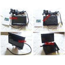 7 Inch LCD Monitor In-Car Headrest/Stand for DVD Player/Reverse Camera