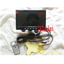 7inch TFT LCD MONITOR For DVD Player/Reverse Camera with Warning Line