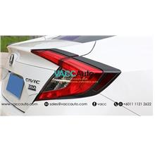 Honda Civic (10th Gen) Tail Lamp Carbon Lining