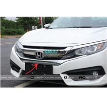 Honda Civic (10th Gen) Front Grill Chrome Lining