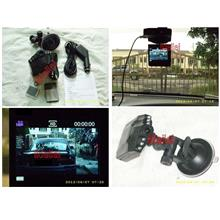 HD DVR CAR DRIVING RECORDER with 2.5 LCD Screen 8Gb SD Card included
