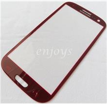 NEW LCD Touch Screen Digitizer Glass Samsung I9300 Galaxy S3 ~RED