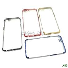 OPPO F7 A71 A71K A83 R15 PRO ELECTROPLATING TRANSPARENT CASE
