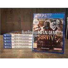 PS4 METAL GEAR SURVIVE R2 CD