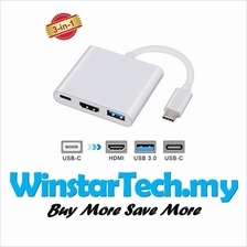 Type-c Male to USB 3.1 HDMI Type C Female Converter Macbook Huawei