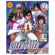 City Hunter Vol 1 134end 4 Movies Anime Dvd Best Price In Malaysia