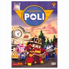Robocar Poli Ep 9-16 Korean Anime DVD