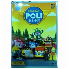 Robocar Poli Ep 1-8 Korean Anime DVD
