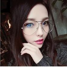 Retro Korea Style Unisex Large Frame Glasses