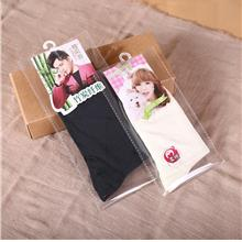 Transparent Self-adhesive Plastic Bag For Socks 50pcs