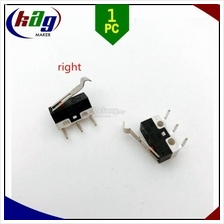 Micro Limit Switch 1A/125VAC With Three Bend Legs RIGHT