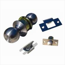 AMAN 3872SS Cylindrical Privacy Lock Door Knob Set