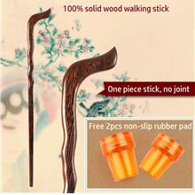 Solid Wood crutches, Uncle Aunty Wooden Walking Sticks, Support Canes