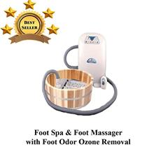 Hurley Foot Jacuzzi 3 IN 1 -Bubble Foot Massage & Foot Spa massage