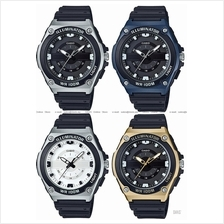 CASIO MWC-100H STANDARD analog LED light sporty resin strap *Variants