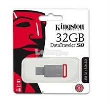 KINGSTON 32GB DT50 USB3.1 FLASH DRIVE (DT50/32GBFR) RED