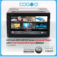 Cogoo 6.95 inch DVD USB HD Series Universal Player